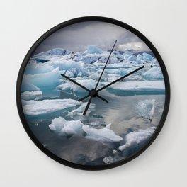 Jokulsarlon Wall Clock