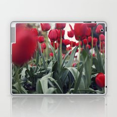 Red Tulips Laptop & iPad Skin