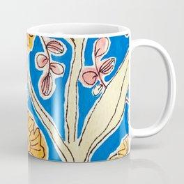 Marigold Floral Coffee Mug