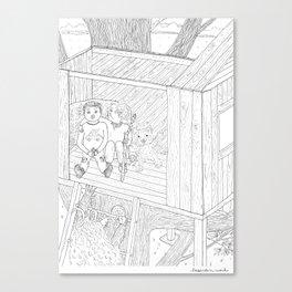 beegarden.works 012 Canvas Print