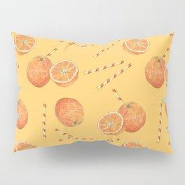 orange juice _ light Pillow Sham