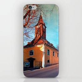 The village church of Waxenberg iPhone Skin