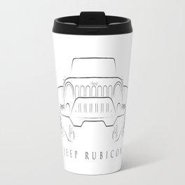 Jeep Wrangler Rubicon Travel Mug