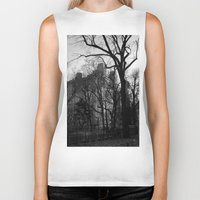 fifth element Biker Tanks featuring Fifth Avenue by Wages of Fear