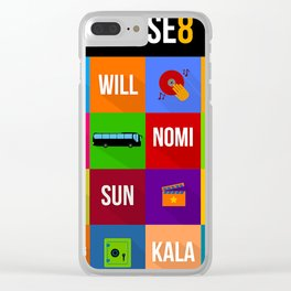 SENSE8 Characters Clear iPhone Case