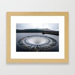 Plughole Framed Art Print