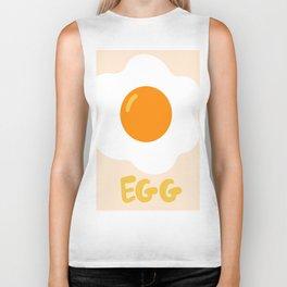 Egg orange Biker Tank