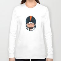 denver Long Sleeve T-shirts featuring Faces-Denver by IllSports