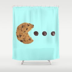 PACKMAN COOKIE Shower Curtain