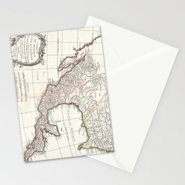 Vintage Map of Mexico (1771) Stationery Cards