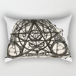 Imperfect Symmetry Rectangular Pillow