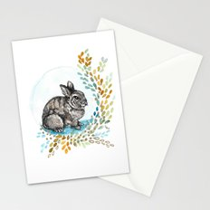 Rustic Rabbit Stationery Cards