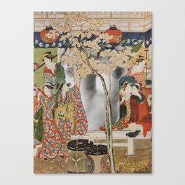 House Of Pleasure Canvas Print