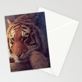 Fantastic Magical Fairytale Beast Chilling In Forest Watching Spirits UHD Stationery Cards