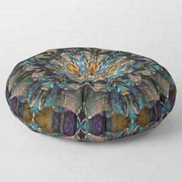 Mandala of aristocracy 2 Floor Pillow