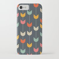 tulips iPhone & iPod Cases featuring Tulips by Tracie Andrews