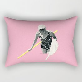 Evening Swim Rectangular Pillow