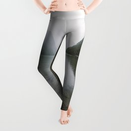 Mountain Lake Vibes - Landscape Photography Leggings