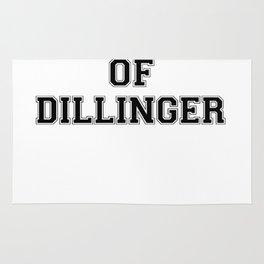 Property of DILLINGER Rug