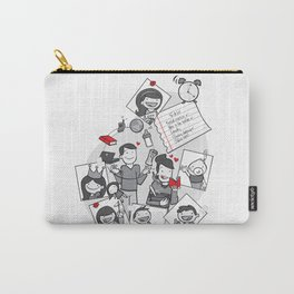 Married with children Carry-All Pouch