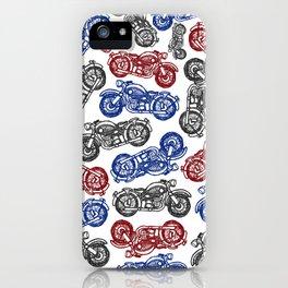 Motorbike Mayhem iPhone Case