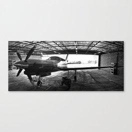 the Hangar Canvas Print