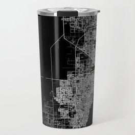 Miami map Travel Mug