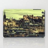 edinburgh iPad Cases featuring Edinburgh by EclipseLio