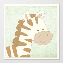 Zebra Jungle Series Print Canvas Print