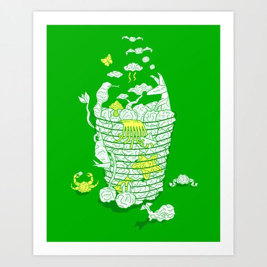 Ideas Never Die Art Print