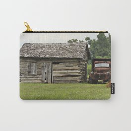 Old truck and cabin Carry-All Pouch