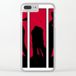 Negan Smash! Clear iPhone Case