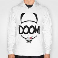 doom Hoodies featuring DOOM by Oddworld Art
