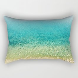 Mediterranean Sea, Italy, Photo Rectangular Pillow