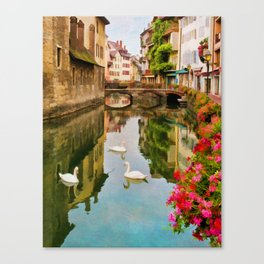 Annecy France Canvas Print