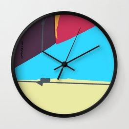 Kite—Aubergine Wall Clock