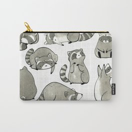 Delightfully Blobby Raccoons Carry-All Pouch
