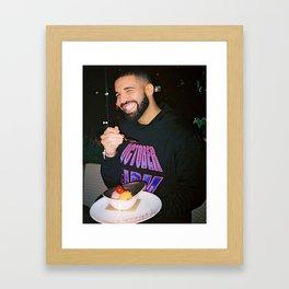 Drake being Drake Framed Art Print