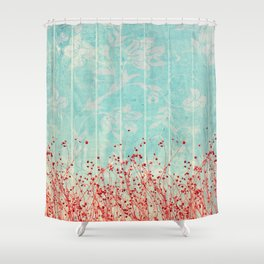 A little hope that Spring is coming Shower Curtain