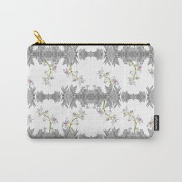 Floral Collage Pattern Carry-All Pouch