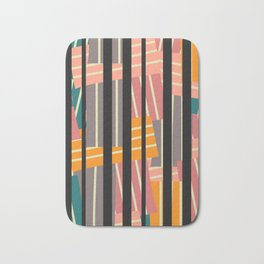 Line abstraction Bath Mat