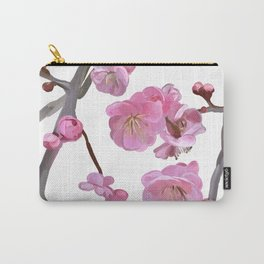painted plum blossom Carry-All Pouch