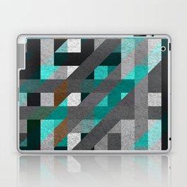 Line Tiles Textured Laptop & iPad Skin