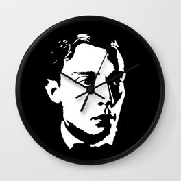 Buster Keaton Is Class Wall Clock