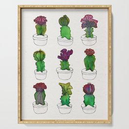 Cactus Party Serving Tray