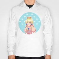 princess peach Hoodies featuring peach by madammonkey