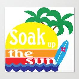 Soak Up the Sun Canvas Print