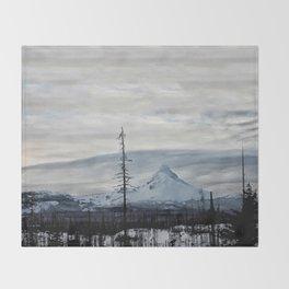 Clarity: Mt. Washington Throw Blanket