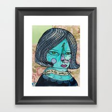 Learn to say goodbye Framed Art Print
