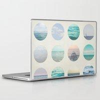 polka dot Laptop & iPad Skins featuring Ocean Polka dot  by Pure Nature Photos